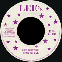 Ronnie Davis / King Tubby's ‎– Power Of Love / In Fine Style