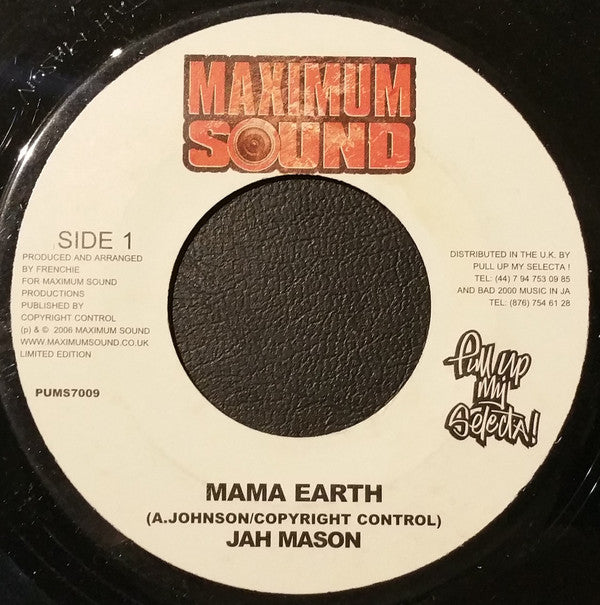 Jah Mason ‎– Mama Earth