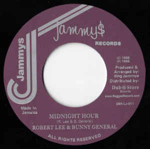 Robert Lee & Bunny General ‎– Midnight Hour
