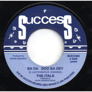 The Itals (2) / Dj I Roy* ‎– Ba Da Doo Ba Dey / Tiger From Bengalie