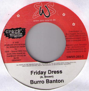 Burro Banton ‎– Friday Dress