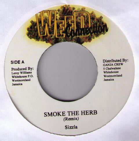 Sizzla / Jigsy King ‎– Smoke The Herb (Remix) / Gimme Di Weed (Remix)