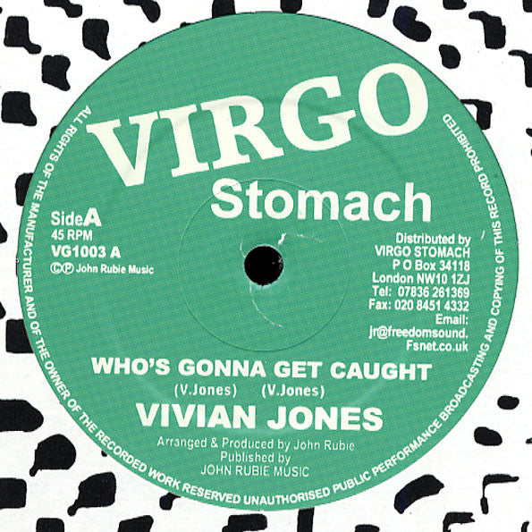 Vivian Jones ‎– Who's Gonna Get Caught