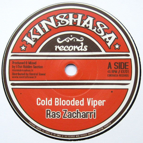 Ras Zacharri ‎– Cold Blooded Viper