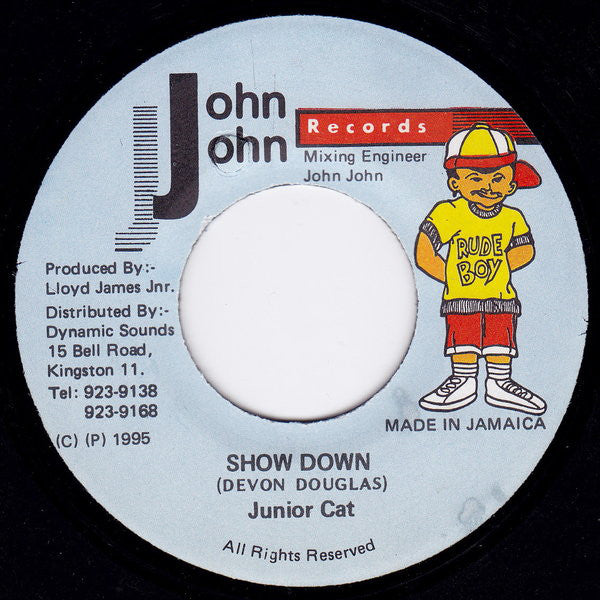 Junior Cat ‎– Show Down