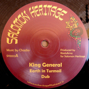 King General / Ras Tweed ‎– Earth In The Turmoil / Stick It Up