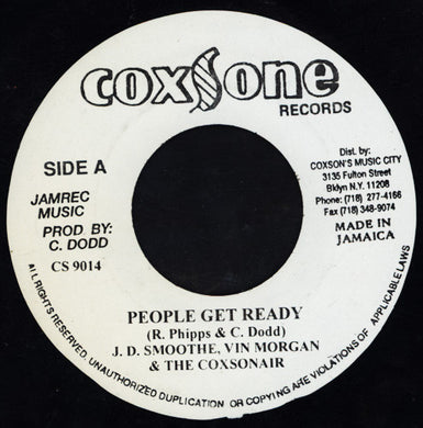 J.D. Smoothe, Vin Morgan & The Coxsonair ‎– People Get Ready