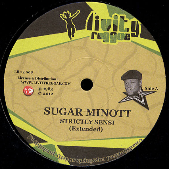 Sugar Minott / Trevor Junior ‎– Strictly Sensi / Chaplin