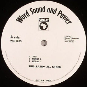 Tribulation All Stars / Singer Blue ‎– 2012 / In My House