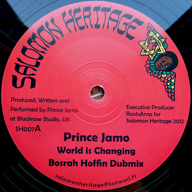 Prince Jamo ,/ Messenger Douglas ‎– World Is Changing / Praise Him