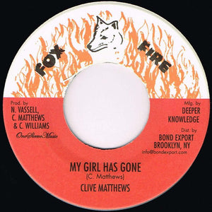 Clive Matthews ‎– My Girl Has Gone