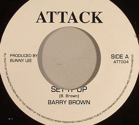 Barry Brown ‎– Set It Up