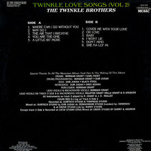 The Twinkle Brothers ‎– Twinkle Love Songs Volume Two