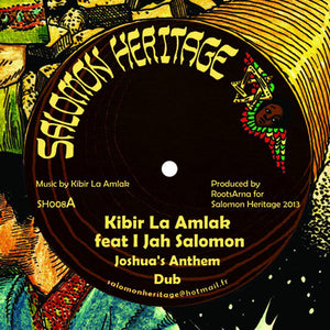 Kibir La Amlak Feat I Jah Salomon / The Riddim Activist Feat I Jah Salomon ‎– Joshua's Anthem / Horns Of Jericho