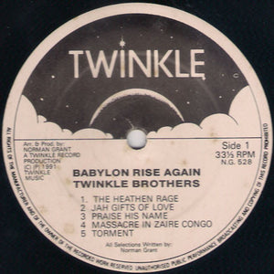 Twinkle Brothers ‎– Babylon Rise Again