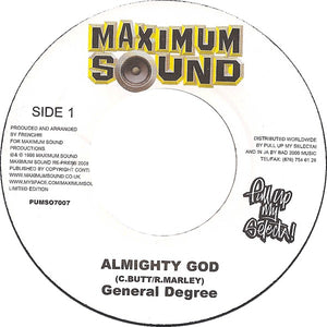 General Degree ‎– Almighty God