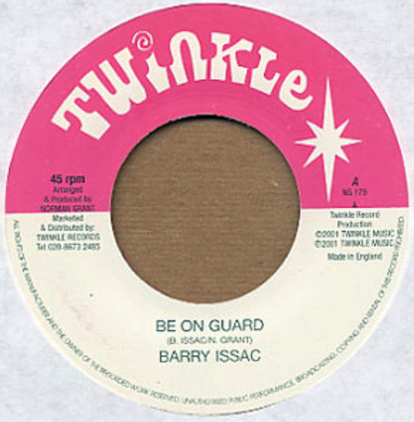 Barry Issac ‎– Be On Guard