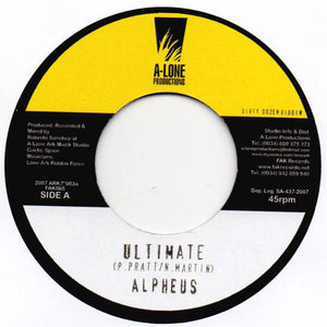 Alpheus / Ranking Forest ‎– Ultimate / Whole Heap Of Style