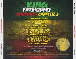 King Earthquake ‎– Dubplates Chapter 3 [CD]