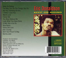 Eric Donaldson ‎– Keep On Riding