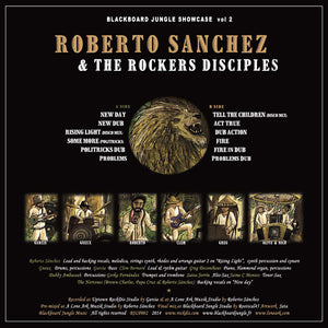 Roberto Sanchez & The Rockers Disciples ‎– Blackboard Jungle Showcase Vol.2