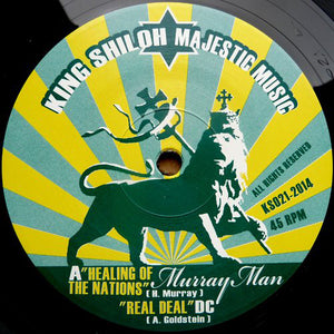 Murray Man, DC ‎– Healing Of The Nations / Mental Slavery