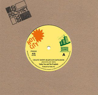 Yabby You & The Prophets ‎– Chant Down Babylon Kingdom (Dub Plate Mix)