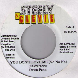 Dawn Penn ‎– You Don't Love Me (No No No)