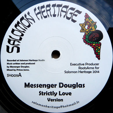 Messenger Douglas / Daba Makourejah ‎– Strictly Love / Soulful Revolution