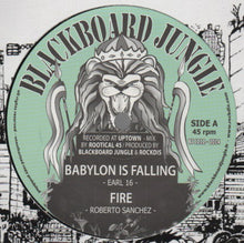 Earl 16 / Roberto Sanchez / Lutan Fyah / Rockdis All Stars ‎– Babylon Is Falling / Fire / Survivor / Survival Dub