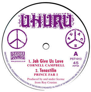 Cornell Campbell / Prince Far I / Charlie Chaplin / Scientist ‎– Jah Give Us Love / Tenastilin / Air Is Polluted / Jah Give Us Dub