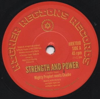 Mighty Prophet ‎meets chazbo - Strength And Power
