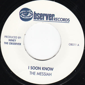 The Messiah ‎– I Soon Know