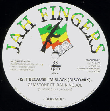 Gemstone, Ranking Joe ‎– Is It Because I'm Black