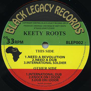 Keety Roots ‎– Need A Revolution