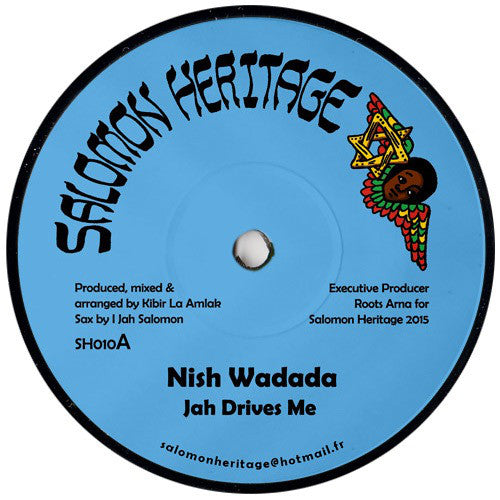 Nish Wadada ‎– Jah Drives Me / Patience