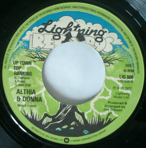 Althia & Donna / Mighty Two ‎– Up Town Top Ranking / Calico Suit