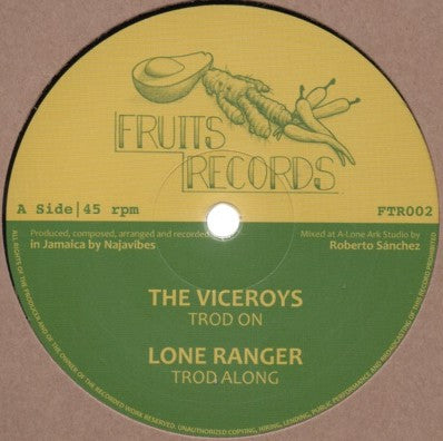 The Viceroys, Lone Ranger, Prince Alla ‎– Troddin' On