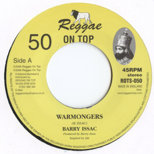 Barry Issac / Reggae On Top Allstars ‎– Warmongers