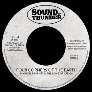 Michael Prophet, Mr Haze & The S.O.A ‎– Four Corners Of The Earth