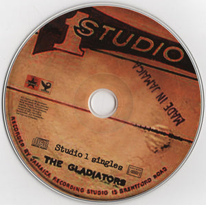 The Gladiators ‎– Studio One Singles (CD)