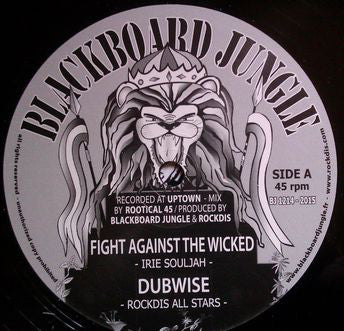Irie Souljah / Rockdis All Stars / Reality Souljahs / Don Fe ‎– Fight Against The Wicked