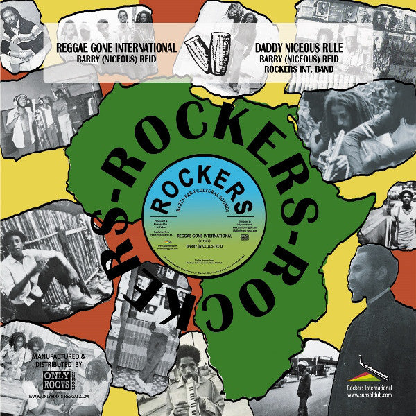 Barry Reid ‎– Reggae Gone International / Daddy Niceous Rule