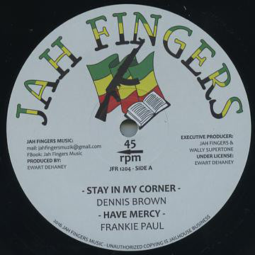 Dennis Brown, Frankie Paul ‎– Stay In My Corner / Have Mercy