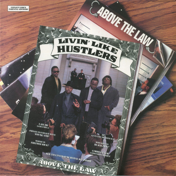 Above The Law ‎– Livin' Like Hustlers