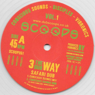 Conscious Sounds - Disciples - Vibronics ‎– Safari Dub