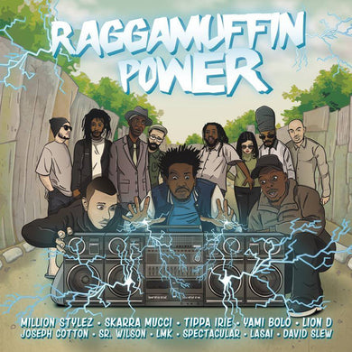 Various ‎– Raggamuffin Power