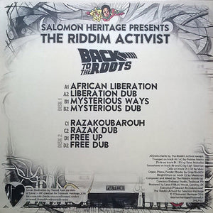 Salomon Heritage Presents The Riddim Activist ‎– Back To The Roots