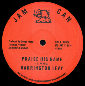 Barrington Levy ‎– Praise His Name