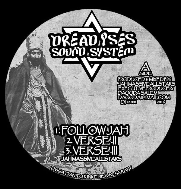 Jah Massive All Stars ‎– Follow Jah / Jonah in the belly